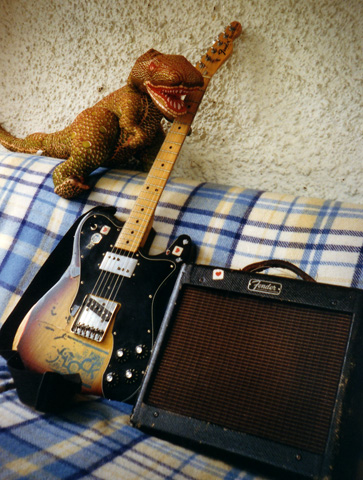 Telecaster and vintage 10 watt  amp.....
