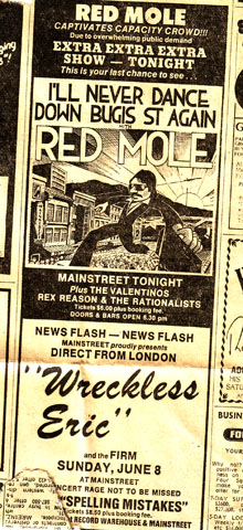 Ahh.. Mainstreet ,  Red Mole